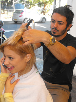 יקי אלמקייס מעצב שיער