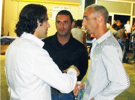 אבי מימון, שי גרוסמן ודוד בלחנס - מדברים בראש. צילום: בראש - פורטל יופי ישראלי.