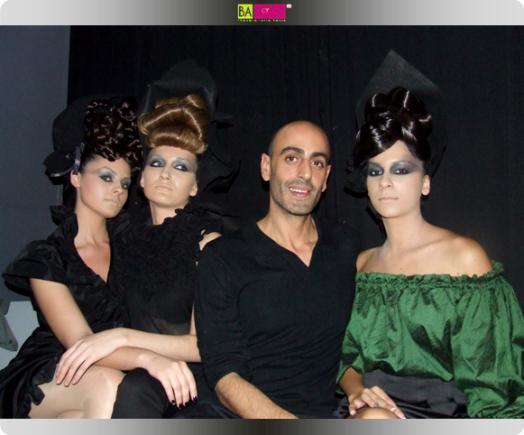 תסרוקות קלאסיות - אבי מלכה. צילום: בראש - פורטל יופי ישראלי.