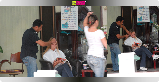 מירי בוהדנה עושה החלקה ברזילאית.