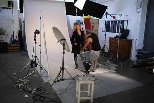 אילנית לוי לרשת נעלי גלי. צילום: אופיר קפון.