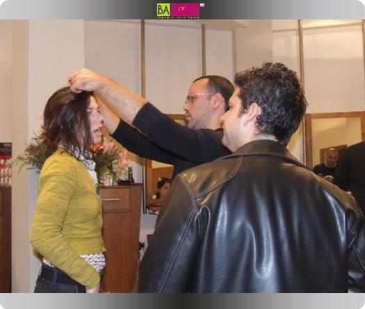 ארז שרביט מעצב שיער למשפחה וחצי