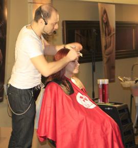 Heads ו-Eugene Perma - הדרכות למעצבי שיער