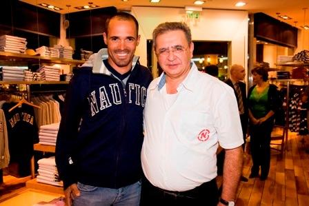 השייט אודי גל עם איש העסקים סולי סקאל