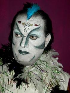 איפור שרית ליברמן השראה פנטום האופרה