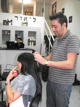 ליאור M - תוספות שיער בשרון. צילום: חיים פפארצי למערכת פורטל היופי הישראלי בראש