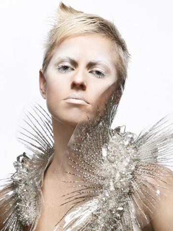 מלכת הכפור - מראה איפור חורף 2010