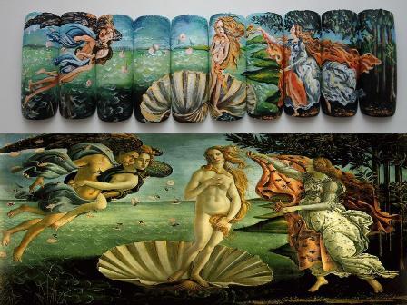 ציור של בוטיצ'לי- לידת ונוס