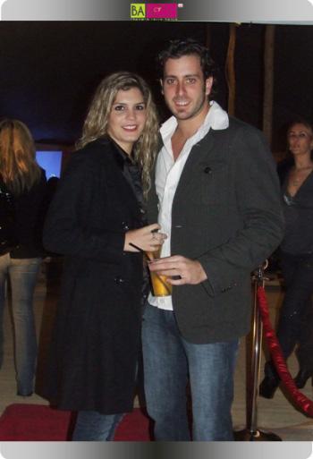 רובי כהן וחברתו מור באירוע החלקה ברזילאית של גילעם קוסמטיקס