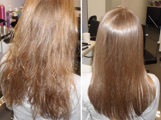החלקת שיער ברזילאית אצל רובי סגל