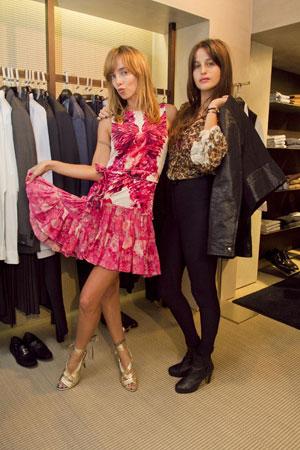 שרי גבעתי וליאל דניר בתצוגת האופנה של רוברטו קוואלי
