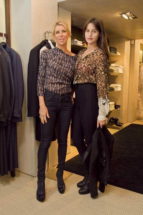 ליאל דניר ורונית יודקביץ בתצוגת האופנה של רוברטו קוואלי