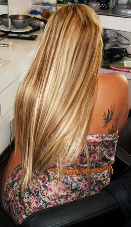 אחרי תוספות שיער
