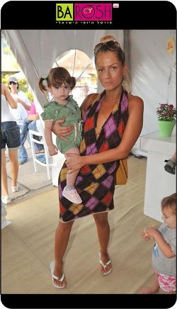 דנה אשכנזי והילדה
