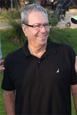יורם ארבל במשחק גולף