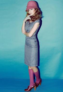 שמלה-לה בחרה בלירון ויצמן. צילום: איתן טל.