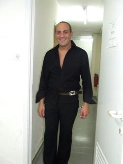 איציק סרדיניה. צילום: בראש פורטל יופי ישראלי