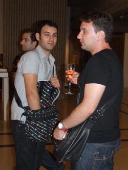 מעצב השיער דודי בן אבו (משמאל). צילום: בראש פורטל יופי ישראלי.