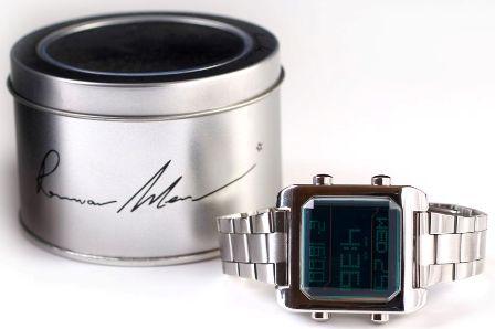 רנואר מן - שעון דיגיטאלי מעוצב