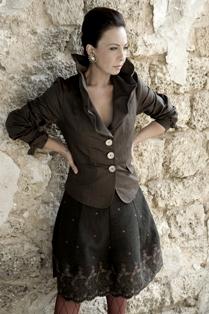 אוולין הגואל למעצבת האופנה דורית שדה