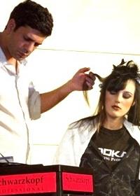 מעצב השיער אופיר אחרק. צילום: חיים פפארצי
