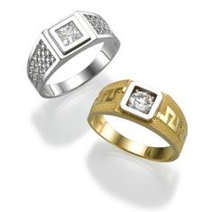 תכשיטים - גבר מי שעונד יהלומים!