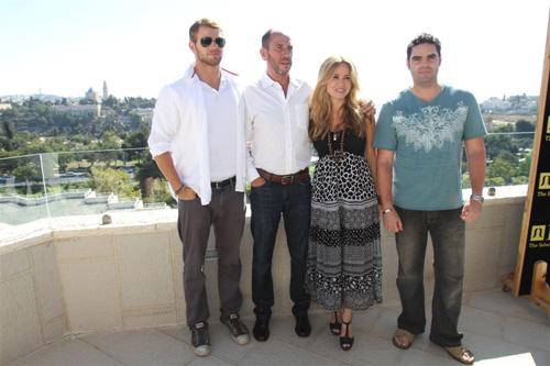 כוכבי הוליווד במלון ענבל בירושלים