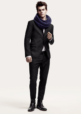 H&M - קולקציית סתיו חורף 2010-11 - גברים