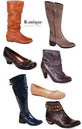 קולקציית נעלי נשים - B.Unique