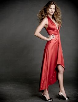 שמלה אדומה וסקסית לכבוד ט'ו באב - APRIL