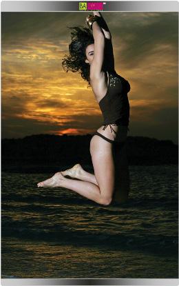 סימפלי יו - התחרות. בגדי ים בננה קיץ 2009. צילום: עדי ברקן
