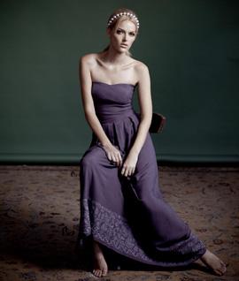 קולקציית בגדי מעבר אביב 2010 - דפנה לוינסון