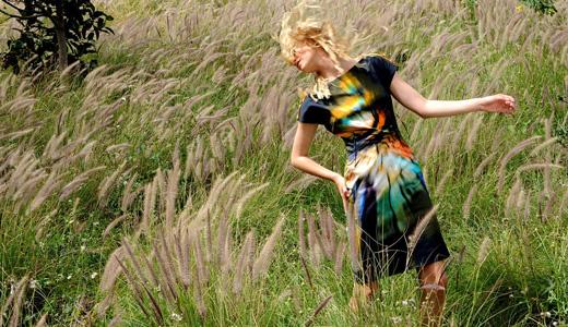 אליאן סטולרו - קולקציית קיץ 2010. צילום: איתן טל.