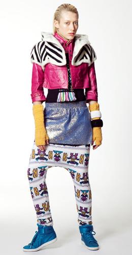שנקר עיצוב אופנה - מכירה מיוחדת. עיצוב: טל קריבושי.
