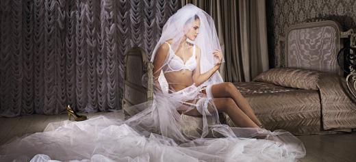 הלבשה תחתונה בערב החתונה - טריומף
