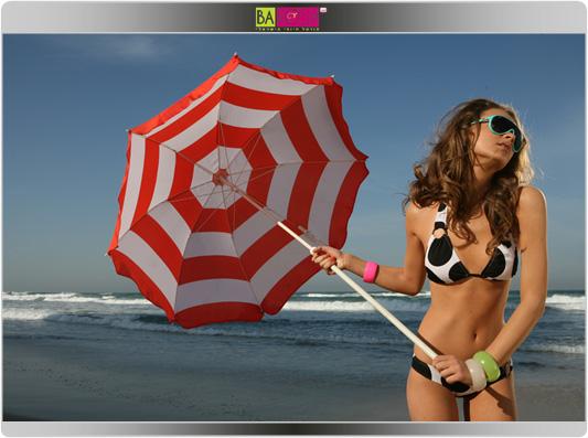 המשביר לצרכן - בגדי הים לעונת קיץ 2009 - בננה