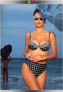 בגד ים מתוך קטלוג  1993 - גדעון אוברזון האיש שמאחורי הבגד