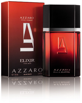 בושם חדש AZZARO - ELIXIR