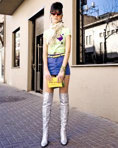 חצאית מיני - TNT