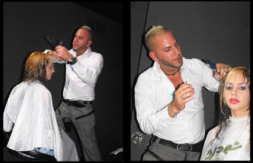 מסכות שיער במועדון - ניסו אשכנזי על הבמה באירוע ההשקה של מסכות שיער מבית וולנס