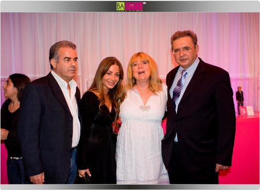 סולי ושרי סקאל יחד עם פנינה טורנה ודודי לבנשטן. צילום: שי ווליץ.