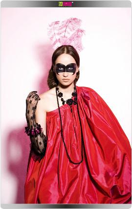 פורים 2009 - מראה האישה הוויקטוריאנית