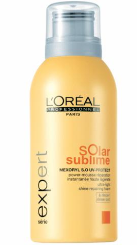 SOLAR SUBLIME  מוס המספק הגנה מהשמש - L'ORÉAL PROFESSIONNEL