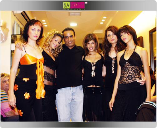 רוני והדוגמניות באחד מערבי האופנה המלהיבים במספרה