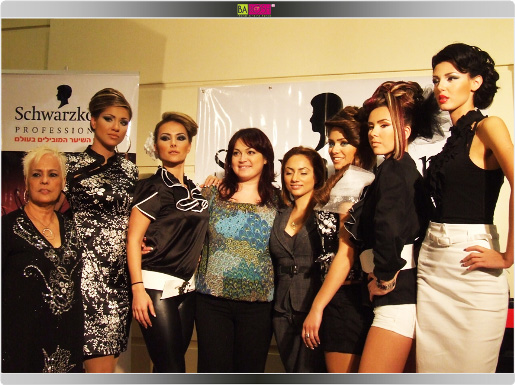 מעצבת השיער אנג'לה טטרו. צילום: בראש - פורטל יופי ישראלי.