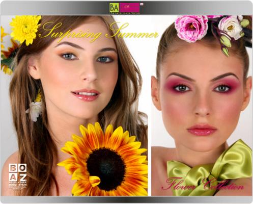מראות איפור קיץ 2009 דבר אלי בפרחים - בועז שטיין