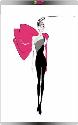 איור האופנה של אסטבן קורטזר לעמנואל אונגארו