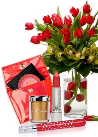 איפור ופרחים ליום האישה הבינלאומי