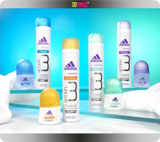 adidas מציגים את Action 3 הדור החדש של הדאודוראנטים לאישה