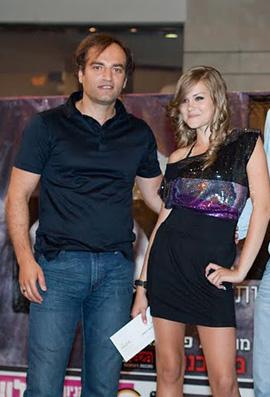 נערת ZAZA 2010 - קריסטינה סמיונוב ואבי גונן.